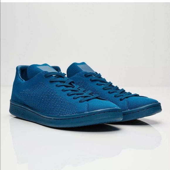 super populaire 6b413 5df79 Adidas Originals Stan Smith PK Blue S80067 - 9 NWT